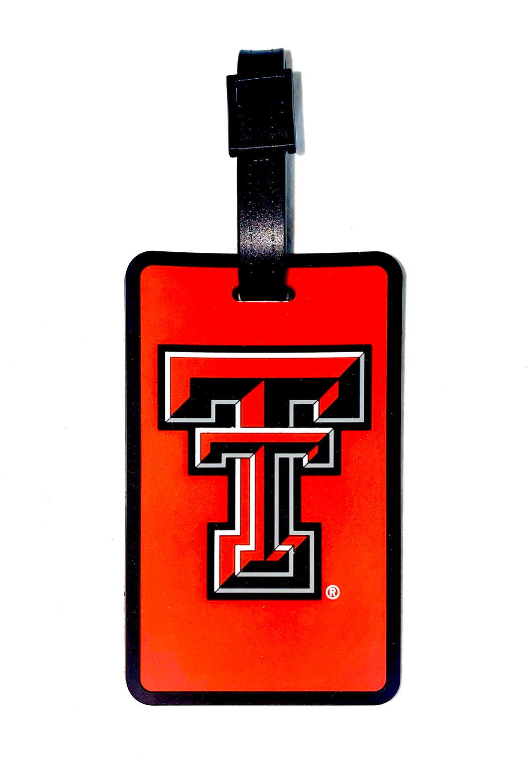 TEXAS TECH Red Raiders NCAA Licensed SOFT Luggage BAG TAG~ Red and Black