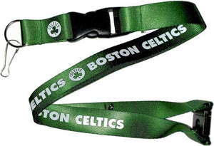 Boston Celtics Officially NBA Licensed Logo Green and White Team Lanyard
