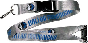 Dallas Mavericks Officially NBA Licensed Blue and White Logo Team Lanyard