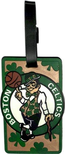 Boston CELTICS NBA Licensed SOFT Luggage BAG TAG