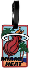 Miami HEAT NBA Licensed SOFT Luggage BAG TAG