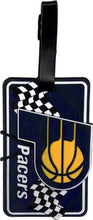 Indiana PACERS NBA Licensed SOFT Luggage BAG TAG