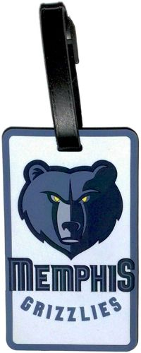 Memphis GRIZZLIES NBA Licensed SOFT Luggage BAG TAG