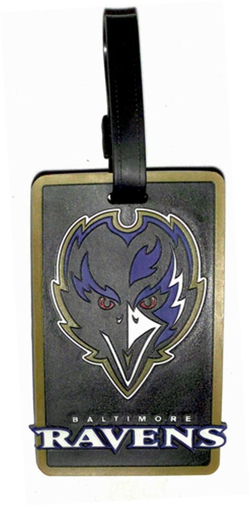 Baltimore Ravens NFL Soft Bag Tag