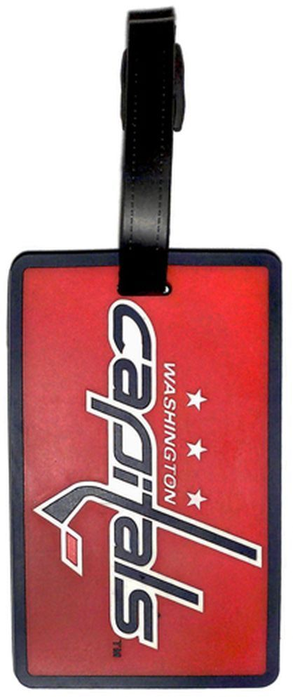 Washington CAPITALS NHL Licensed SOFT Luggage BAG TAG