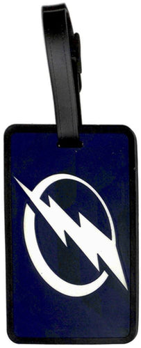 Tampa Bay LIGHTNING NHL Licensed SOFT Luggage BAG TAG
