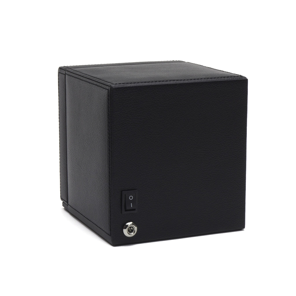 Cub Watch Winder Box with Cover - Black