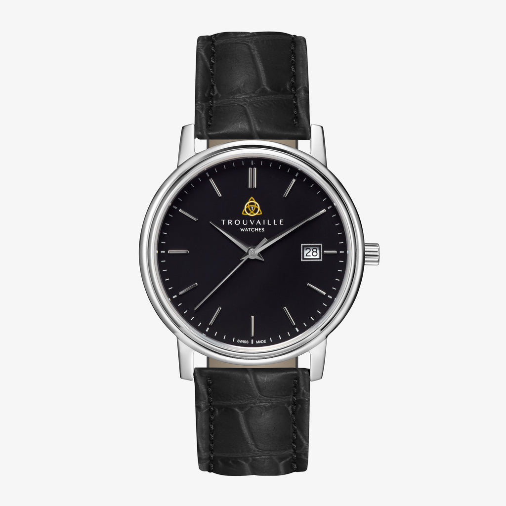 Black Classic Index Quartz Watch