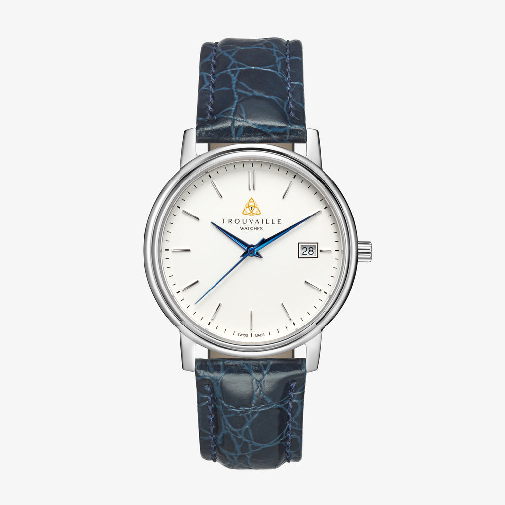 Womens White Classic Index Quartz Watch