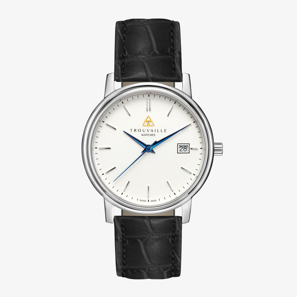 Classic Index - White Dial Watch