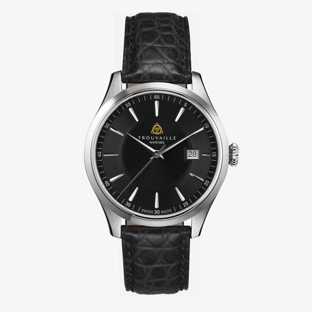 Black Classic Index Automatic Watch