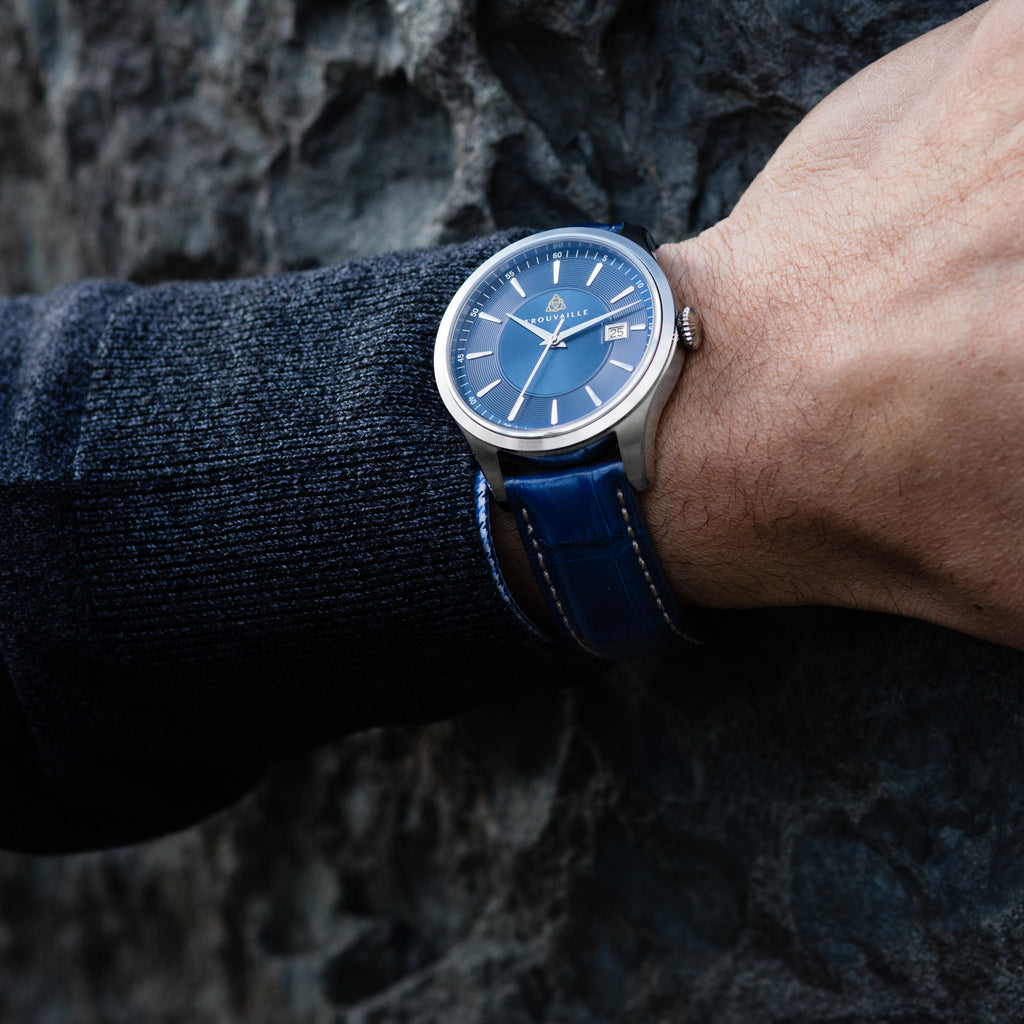 Classic Index Auto - Blue Dial Automatic Watch