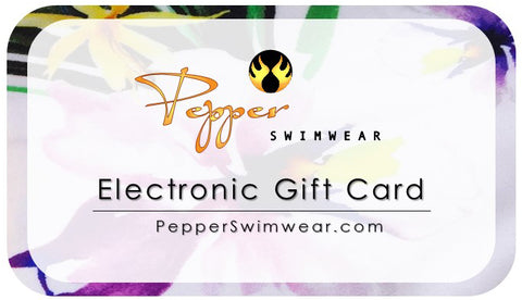Pepper Swimwear E-Gift Card - Spend $50, get $75 Gift Card!