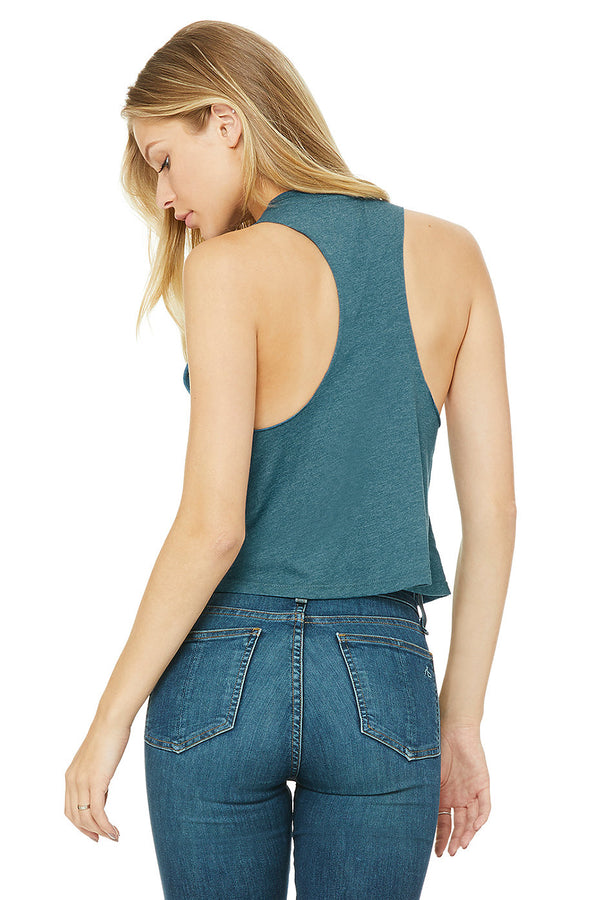 Pepper Swimwear ciao cropped racerback tank, flattering, stylish, for beach, yoga, gym, chill