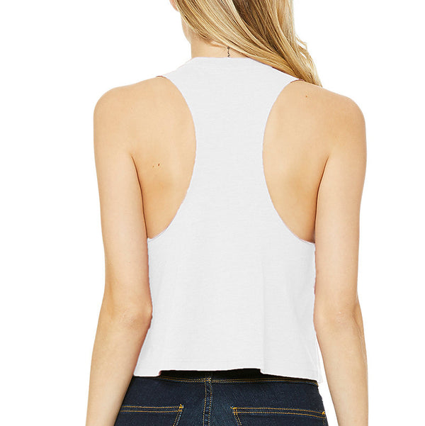 Pepper Swimwear one cropped racerback tank, flattering, stylish, for beach, yoga, gym, chill
