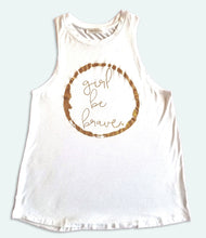 Load image into Gallery viewer, Girl Be Brave Athletic tank