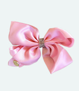 Girl Be Brave Small Pink Bow