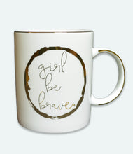 Load image into Gallery viewer, Girl Be Brave Ceramic Coffee Mug