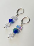 Crystal Waters Beaded Earrings