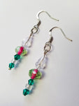 Mermaid Fantasy Beaded Earrings