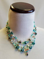 Mermaid Fantasy Beaded Necklace