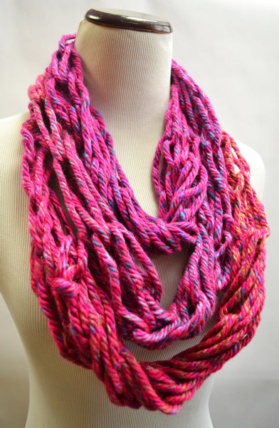 Party Cake Infinity Scarf