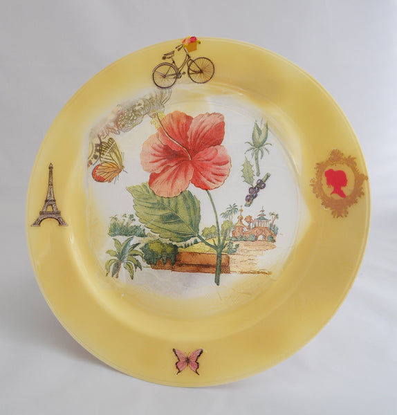 Floral Decorative Plate