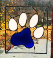 Stained Glass UK Wildcat Paw