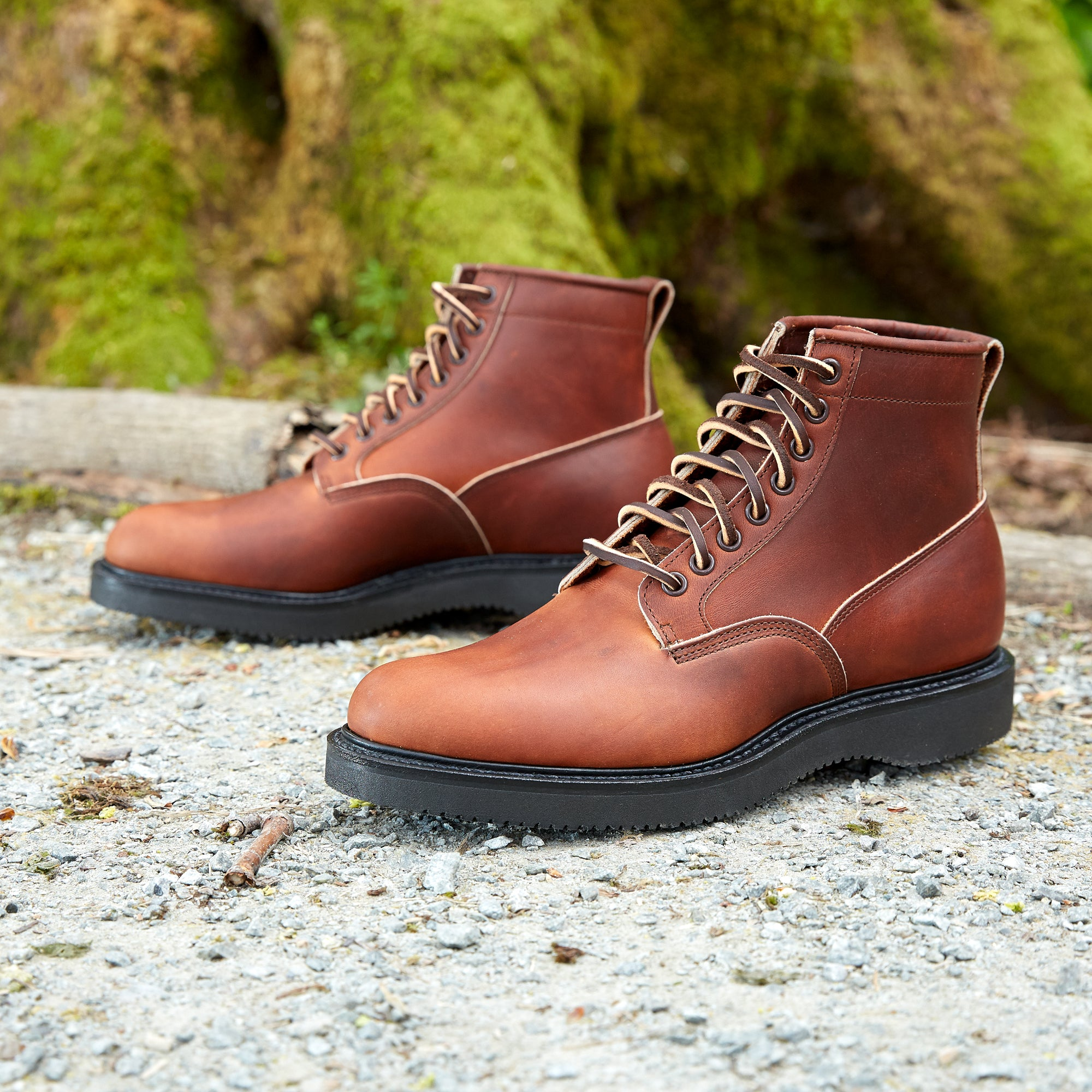 Division Road Viberg Saddle Tan Chromepak Scout Boot