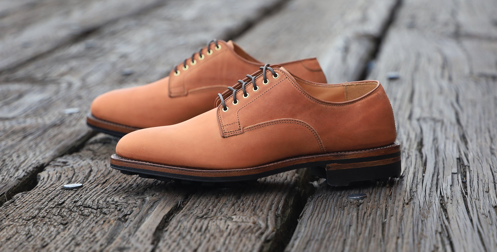 Tannino Vitello Calf Derby Shoe