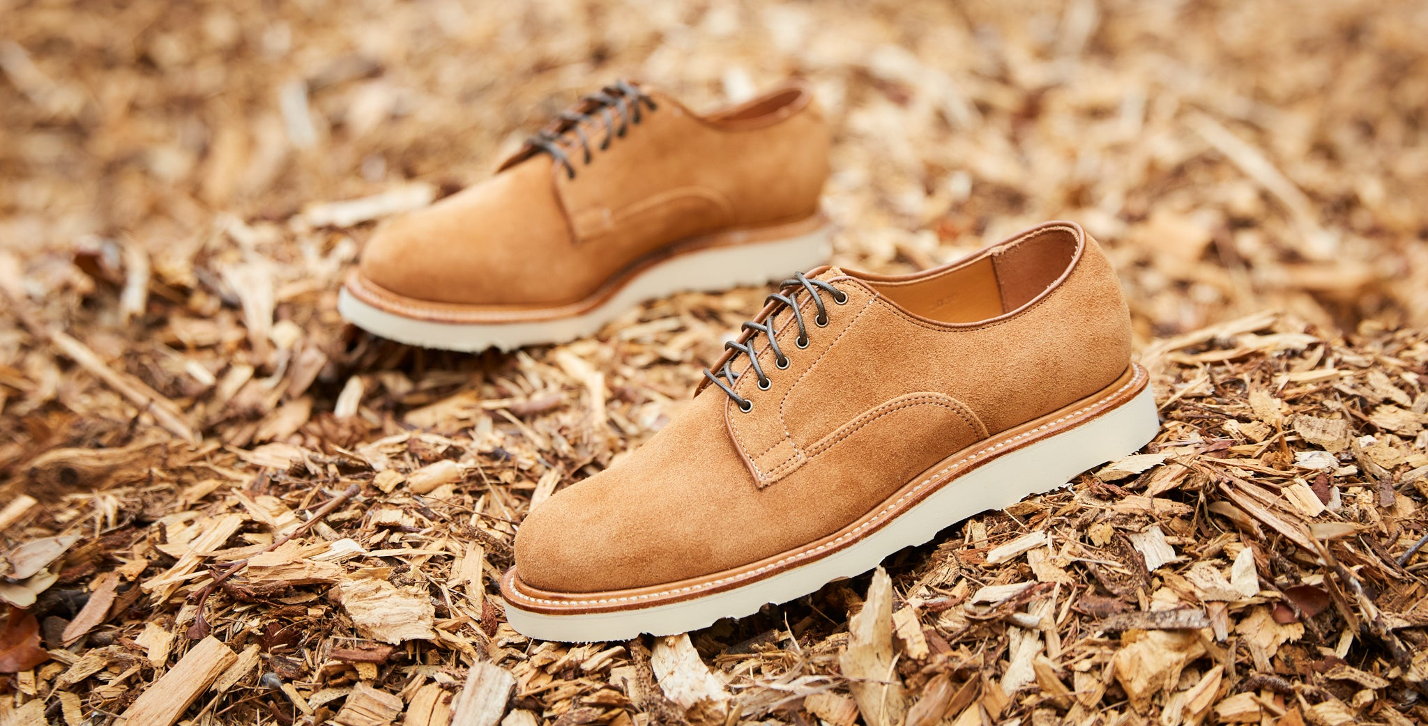 Division Road Viberg x DR Anise Kudu Reverse Derby Shoe