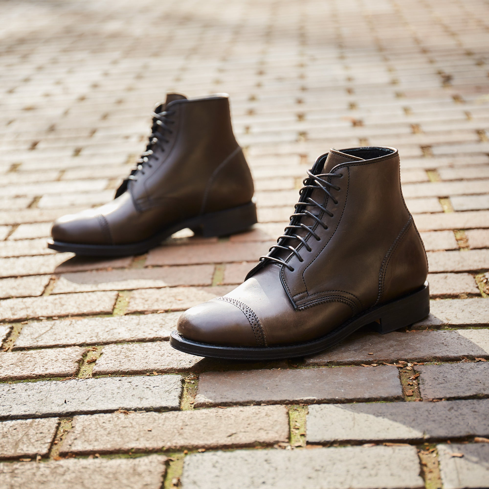 VIBERG X Division Road SHELBY SHARP BROGUE BOOT