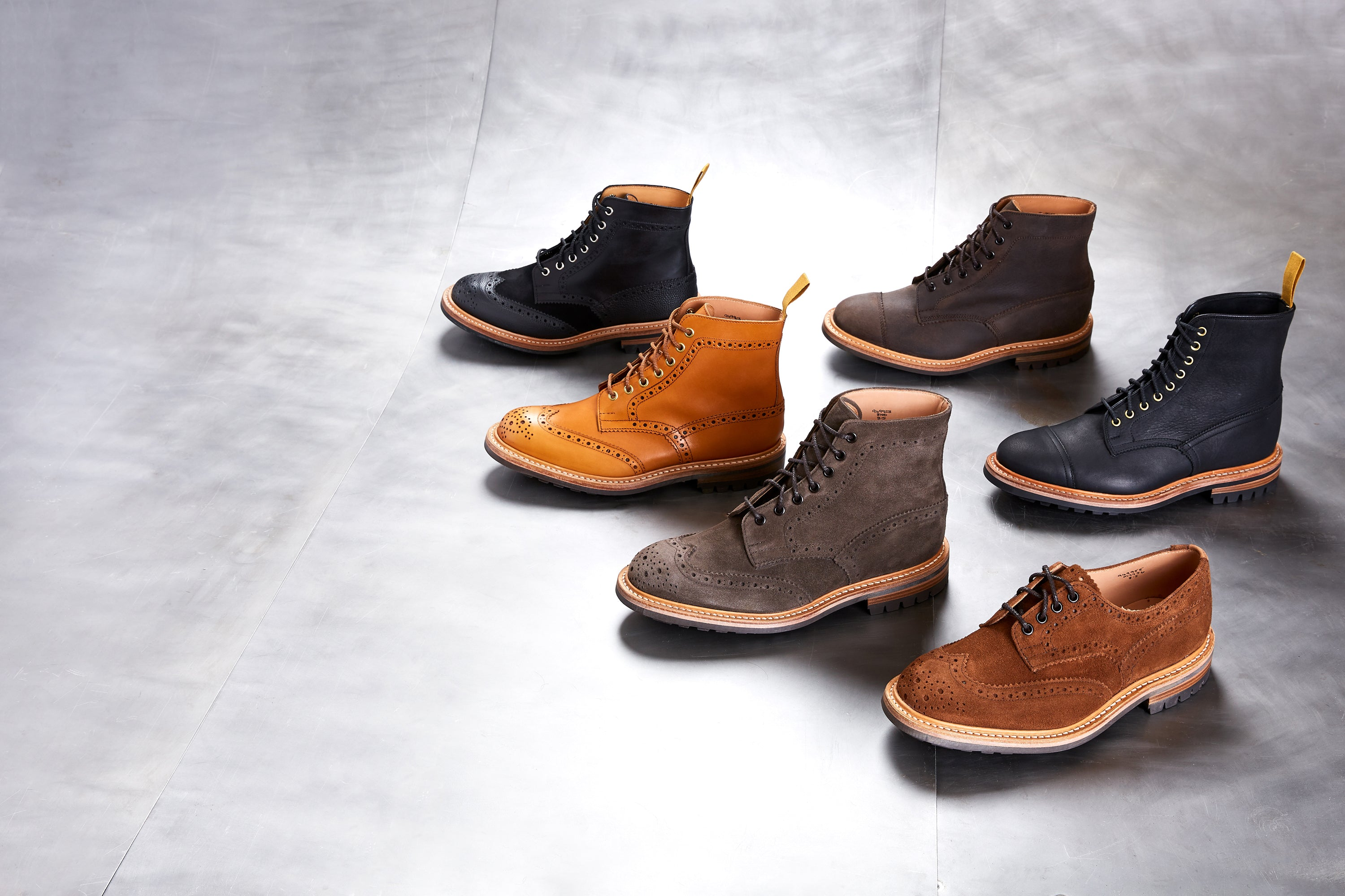 Tricker's x Division Road Core Exclusives