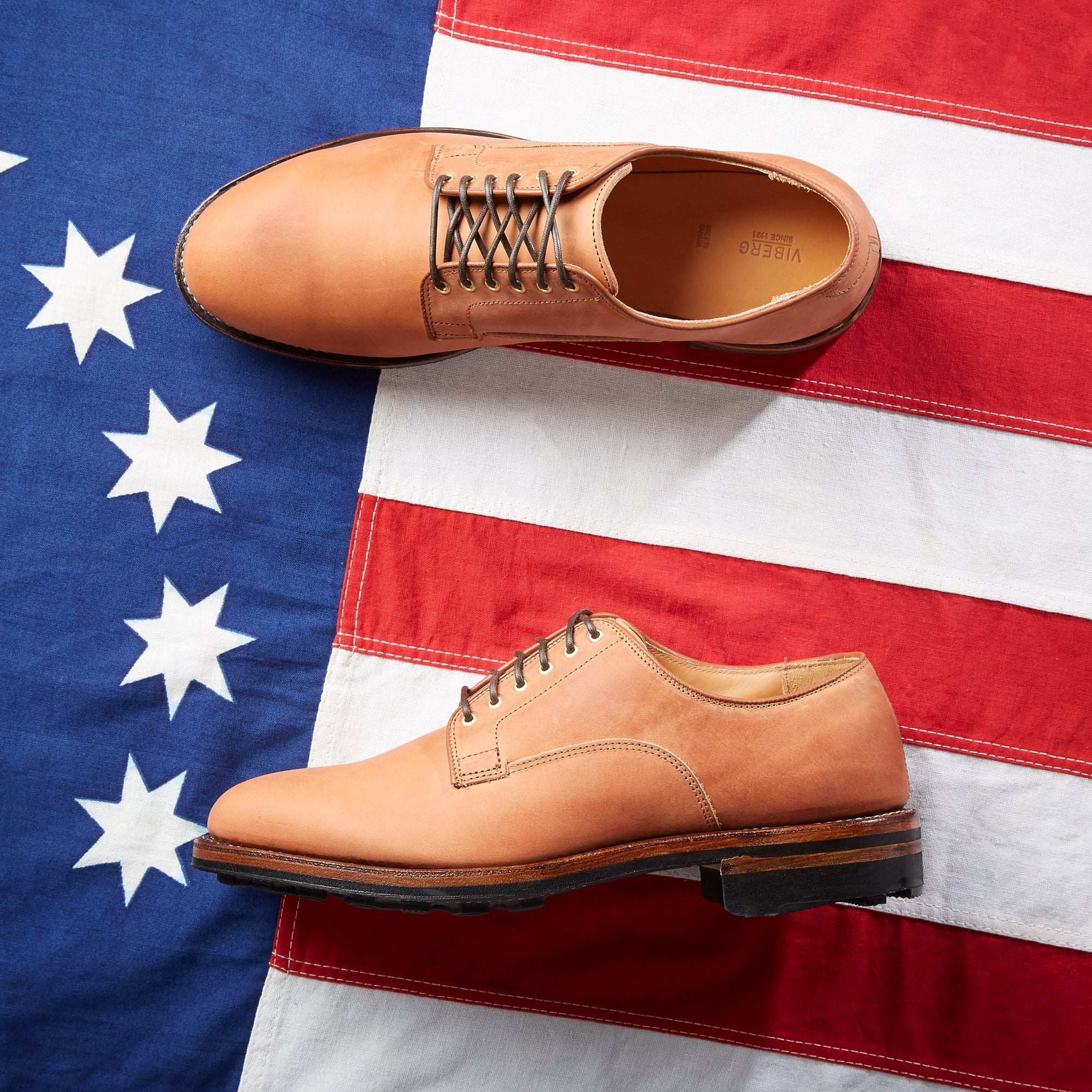 Division Road | Tannino Vitello Calf Derby Shoe
