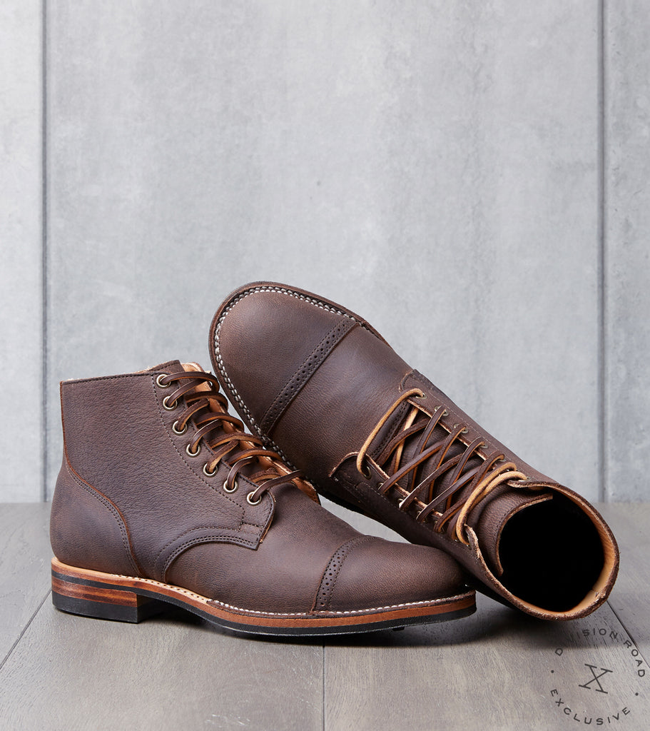 Division Road x Viberg Service Boot - 2030 - Dainite - Ebony Unicorn