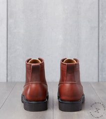 Viberg x Division Road Scout Boot - 2040 - Vibram 2060 - Saddle Tan Chromepak