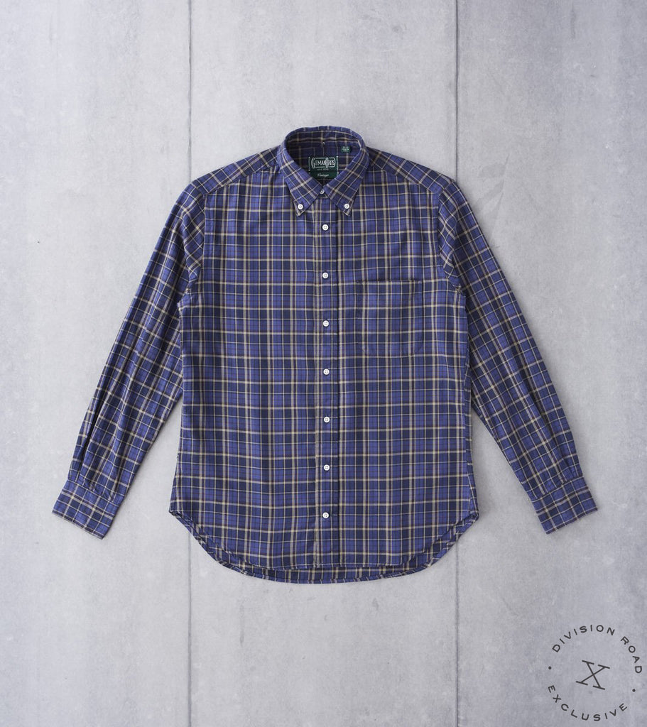 Gitman Vintage x Division Road Deconstructed Plaid Hopsack - NKB
