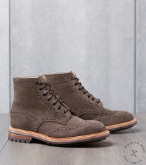 Tricker's Stow Boot - Commando - CF Stead Flint Kudu Reverse Division Road