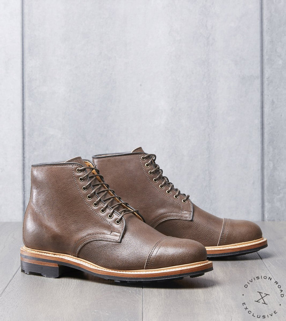 Viberg x Division Road Derby Boot - 2030 - Ridgeway - Brown Camel