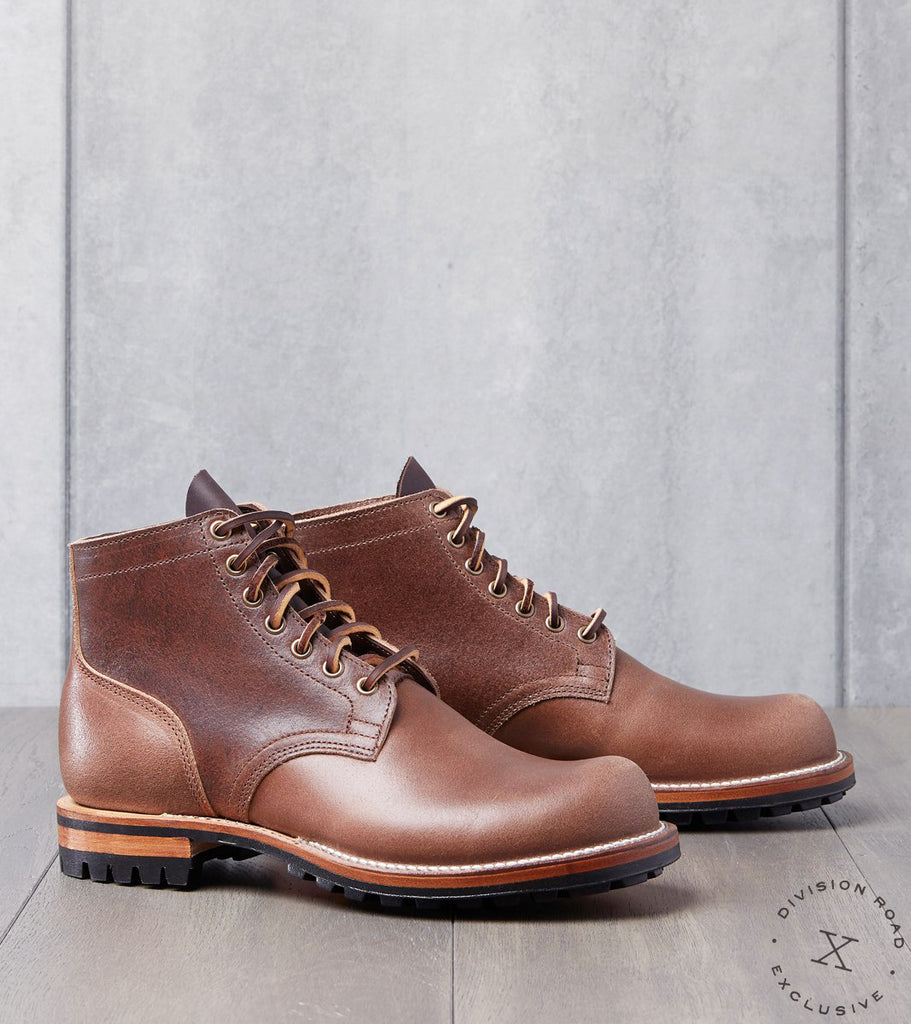 Viberg x Division Road Service Boot - 2045 - Commando - Natural Waxed Flesh