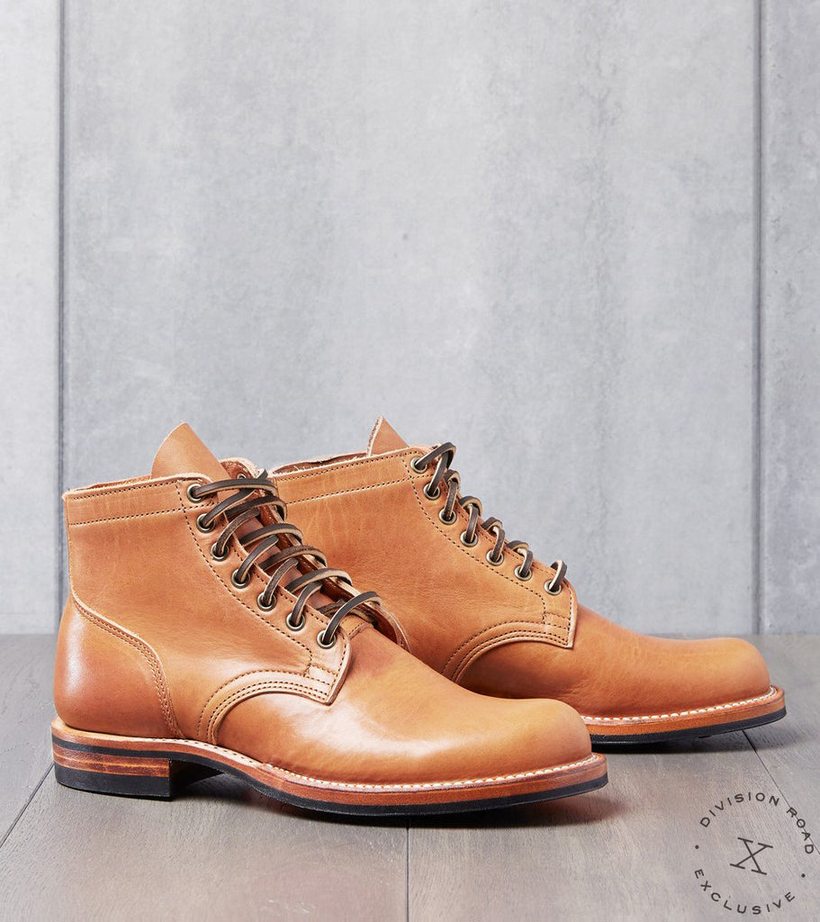 Viberg x Division Road Service Boot - 2040 - Dainite - Natural Dublin