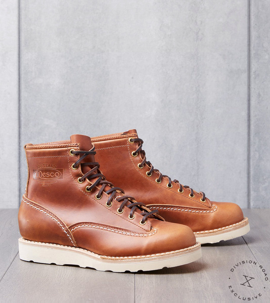Wesco x DR Jobmaster - Vibram Christy - British Tan Domain Division Road