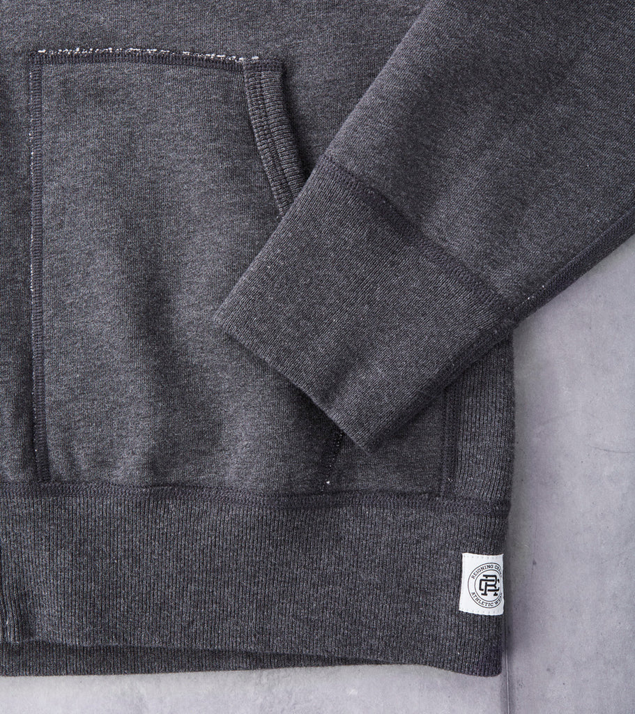 Reigning Champ Full Zip Hoodie Division Road