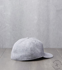 Ebbets Field x Division Road NW PACK Cap - Fitted - Grey Pendleton®