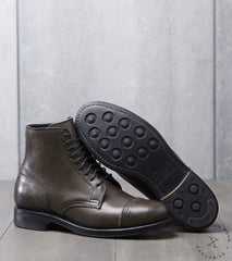 Viberg x Division Road Shelby Sharp Brogue Boot - 2030 - Dainite - Asphalt Horsebutt