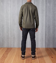 Beach House Shirt Jacket Military Khaki Division Road