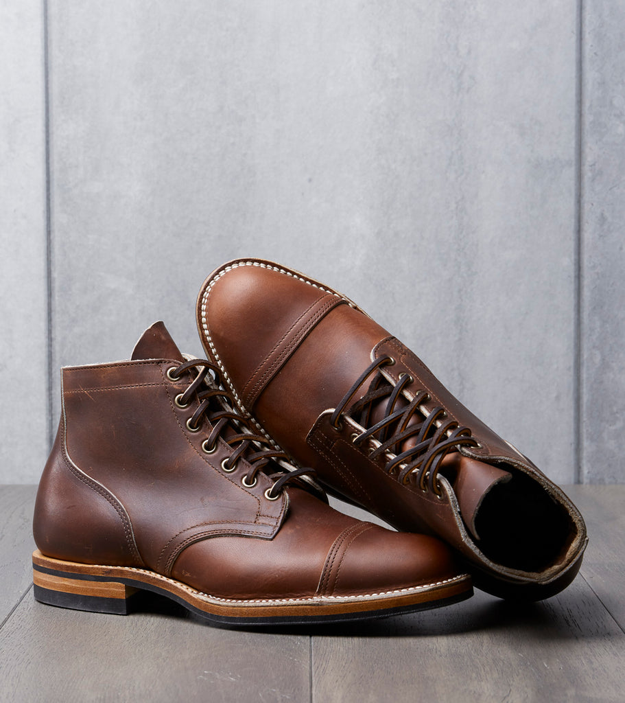 Viberg Service Boot - 2030 - Dainite - Tobacco Chromepak Division Road