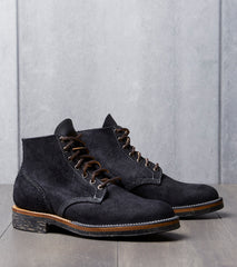 Viberg Boondocker - 2030 - Dr. Sole Cord - Black Oil Tan Roughout Division Road