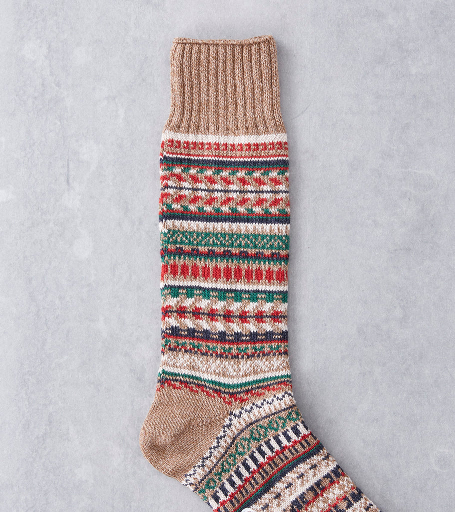 Chup Socks - War Bonnet - Clay Division Road