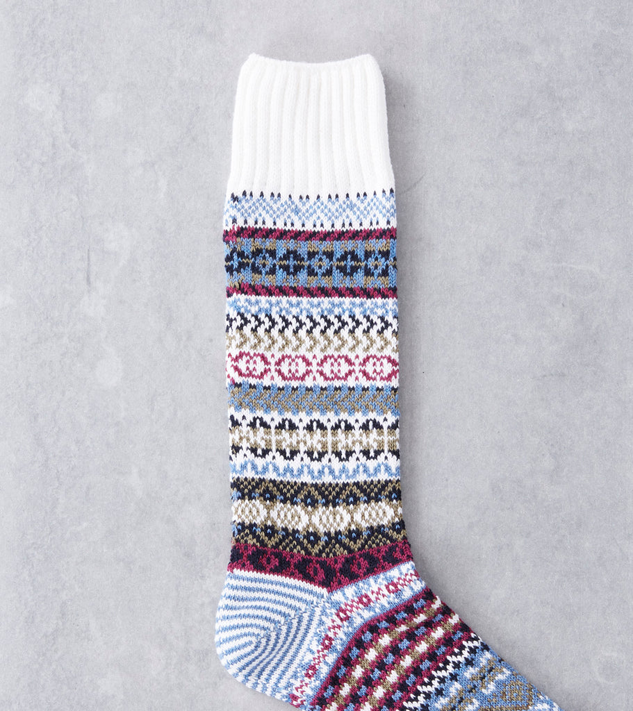 Chup Socks - Up Helly AA - White Division Road